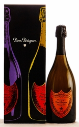 2002 Moet et Chandon Dom Perignon Champagne Andy Warhol Red Label [Gift box]