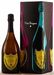 2002 Moet et Chandon Dom Perignon Champagne Andy Warhol Yellow Label [gift box]