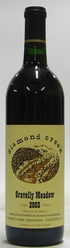 2003 Diamond Creek Cabernet Gravelly Meadow