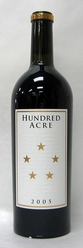 2005 Hundred Acre Cabernet Ark Vineyard
