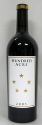 2005 Hundred Acre Cabernet Deep Time