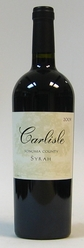 2009 Carlisle Winery Syrah Sonoma County