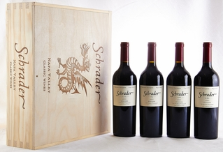 2011 Schrader Cellars Cabernet Beckstoffer Las Piedras Vineyard, T6, CCS, and RBS Four Pack [4 bottles - owc]