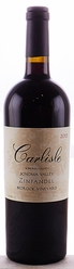 2013 Carlisle Winery Zinfandel Bedrock Vineyard