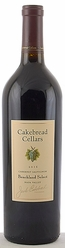 2016 Cakebread Cellars Cabernet Benchland Select