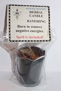 Banishing Herbal Spell Candle