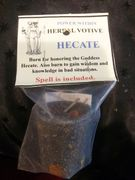 Hecate Herbal Spell Candle