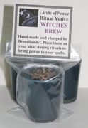 Witch's Brew Spell Candle