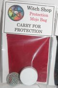 Witch Shop Protection Mojo Bag