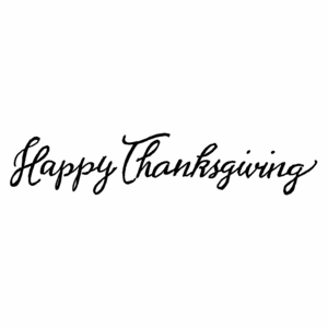 Happy Thanksgiving - DD10498