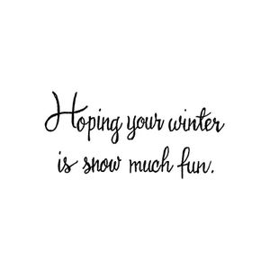 Hoping Your Winter - CC10708
