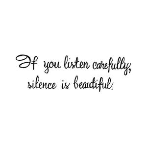 If You Listen Carefully - D10726