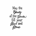 May The Bounty of the Season - CC10492