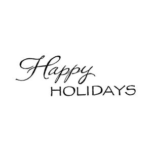 Mixed Font Happy Holidays - D8305