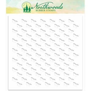 Northwoods Background Stencil: Butterfly NORST-02