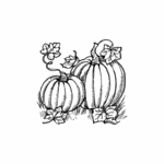 Pumpkin Pair - C10487