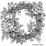 Rose Grapevine Wreath - PP10525