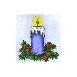 Small Candle - B10680