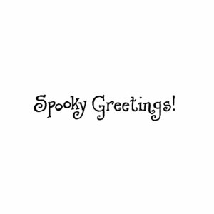 Spooky Greetings - BB10467