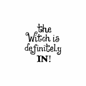 The Witch is Definitely In - C10478