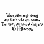 When Witches Go Riding - D10473
