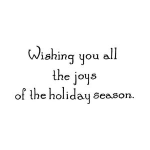Wishing You All The Joys - D10697
