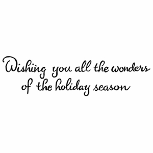 Wishing You All The Wonders D10542