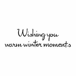Wishing You Warm Winter Moments D10561