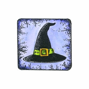 Witch Hat in Frame - C10651