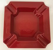 My Father's Cigars - Melamine Ashtray (red)