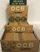 """OCB Bamboo 1 1/4"""" Rolling Papers (50 leaves/pack)"""