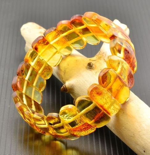 Amber Bracelet Made of Amazing Healing Baltic Amber
