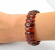 Amber Bracelet with Cognac Baltic Amber