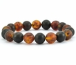 Amber Bracelet Made of Matte Amazing Baltic Amber