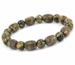Amber Bracelet with Matte & Polished Marble Baltic Amber
