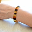 Amber Bracelet with Polished Baltic Amber