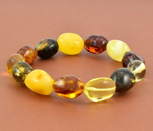 Amber Bracelet with Healing Amber