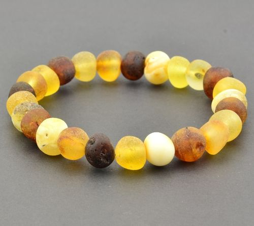 Amber Healing Bracelet Made of Raw Baltic Amber
