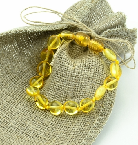 Amber teething bracelet - SOLD OUT
