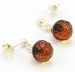 Amber Earrings Handmade of Amazing Healing Baltic Amber
