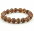 Amber Bracelet with Matte Baltic Amber