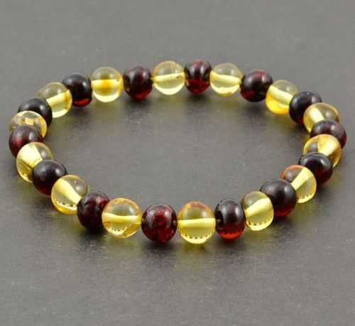 Amber Healing Bracelet Made of Amazing Amber