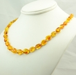 Amber Necklace with Light Honey Baltic Amber