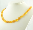 Amber Necklace with Raw and Polished Healing Amber