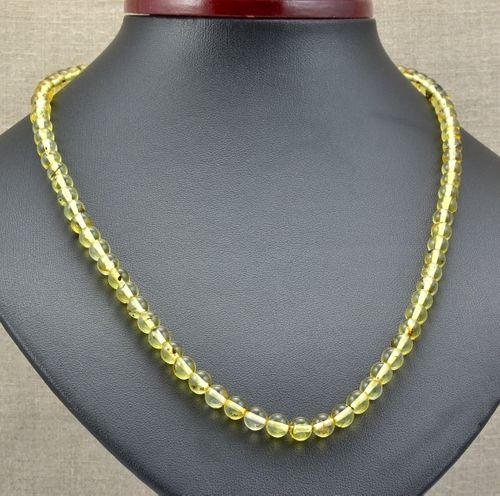 Amber Necklace Made of Amazing Baltic Amber