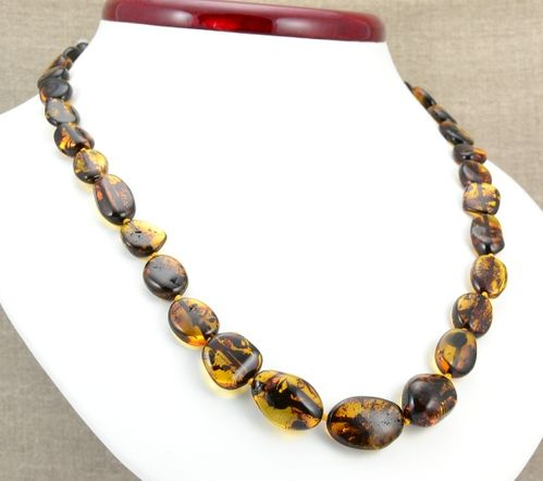 Amber Necklace Made of Amazing Healing Amber