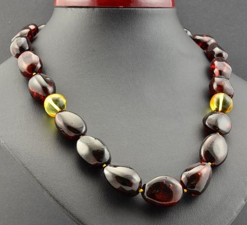 Amber Necklace Made of Healing Amazing Baltic Amber