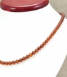 Amber Necklace with Cognac Matte Baltic Amber