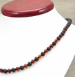 Amber Necklace Made of Matte and Polished Amazing Baltic Amber
