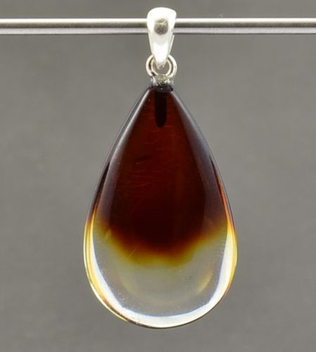 Amber Pendant Made of Amazing Baltic Amber